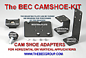 BEC-CAM SHOE ADAPTER KIT